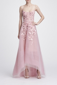 Marchesa Sleeveless Embroidered Gown - Product List Image