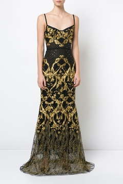 Shoptiques Product: Sleeveless Embroidered Gown