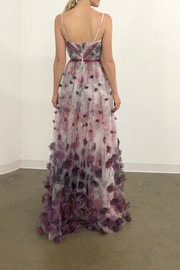 Marchesa Sleeveless Floral Gown - Front full body