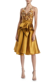 Marchesa Sleeveless Mikado Dress - Product Mini Image
