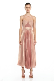 Marchesa Sleeveless Pleated Dress - Product Mini Image