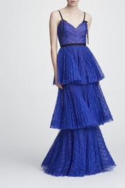 Marchesa Sleeveless Tiered Gown - Product Mini Image