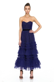 Marchesa Strapless Textured Dress - Product Mini Image