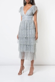 Marchesa Tiered Ruffle Dress - Product Mini Image