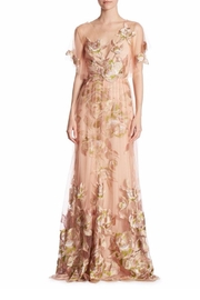 Marchesa Tulle Evening Gown - Product Mini Image