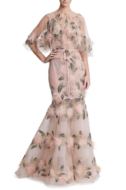Marchesa Tulle Gown W/ Capelet - Product Mini Image