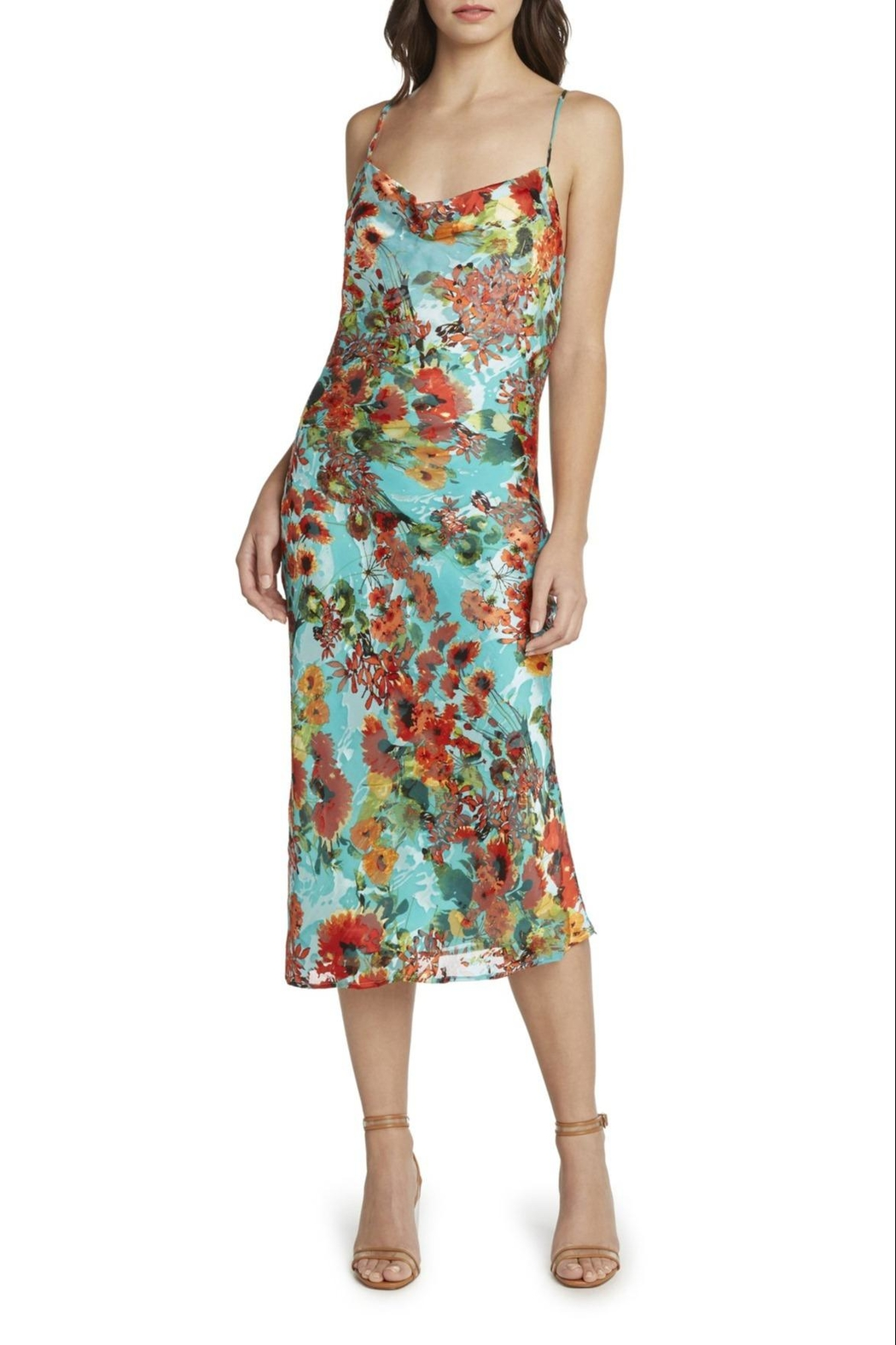 Willow & Clay Marcia Floral Dress - Front Full Image