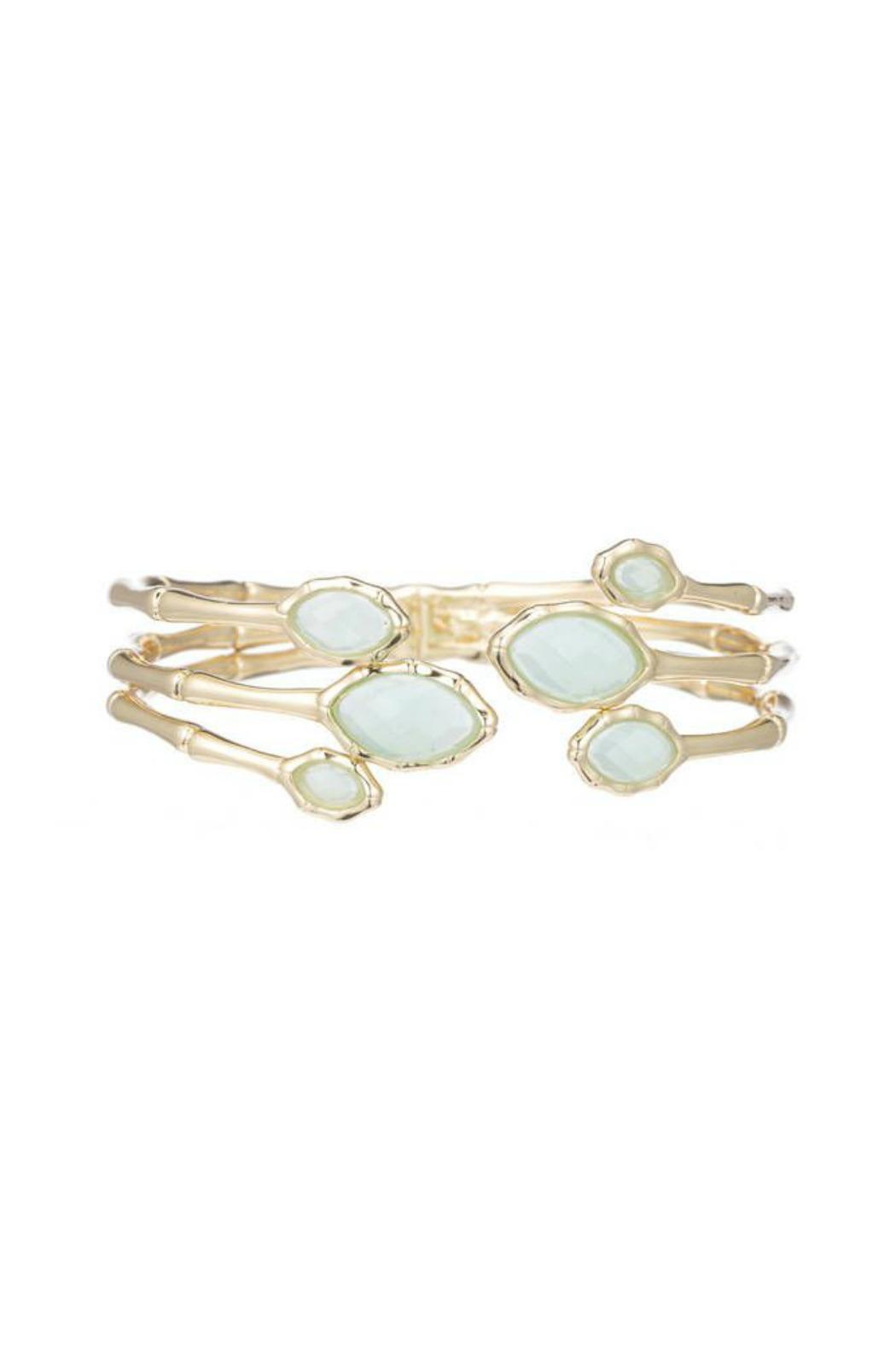 Marcia Moran Blue Chalcedony Cuff - Front Cropped Image