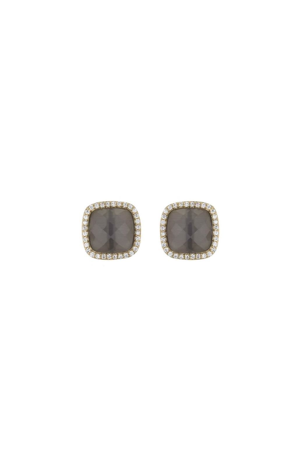 Marcia Moran Cats Eye Studs - Main Image