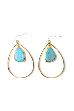 Marcia Moran Classic Drop-Loop Earring - Alternate List Image