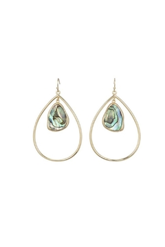 Marcia Moran Classic Drop Loop Earrings - Alternate List Image