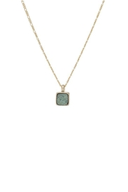 Marcia Moran Dragonfly Druzy Necklace - Front cropped