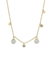 Marcia Moran Druzy Station Necklace - Product Mini Image