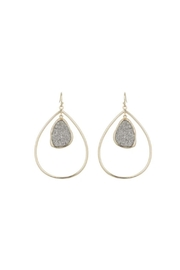 Marcia Moran Flora Drop Earrings - Product Mini Image