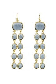 Marcia Moran Long Stone Earring - Product Mini Image