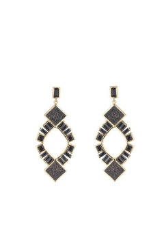 Marcia Moran Stacey Druzy Earrings - Alternate List Image