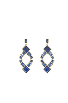 Marcia Moran Stacey Lapis Earrings - Alternate List Image