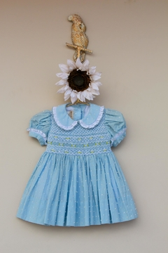 Marco&Lizzy Little Threads Blue Dot Dress - Product List Image