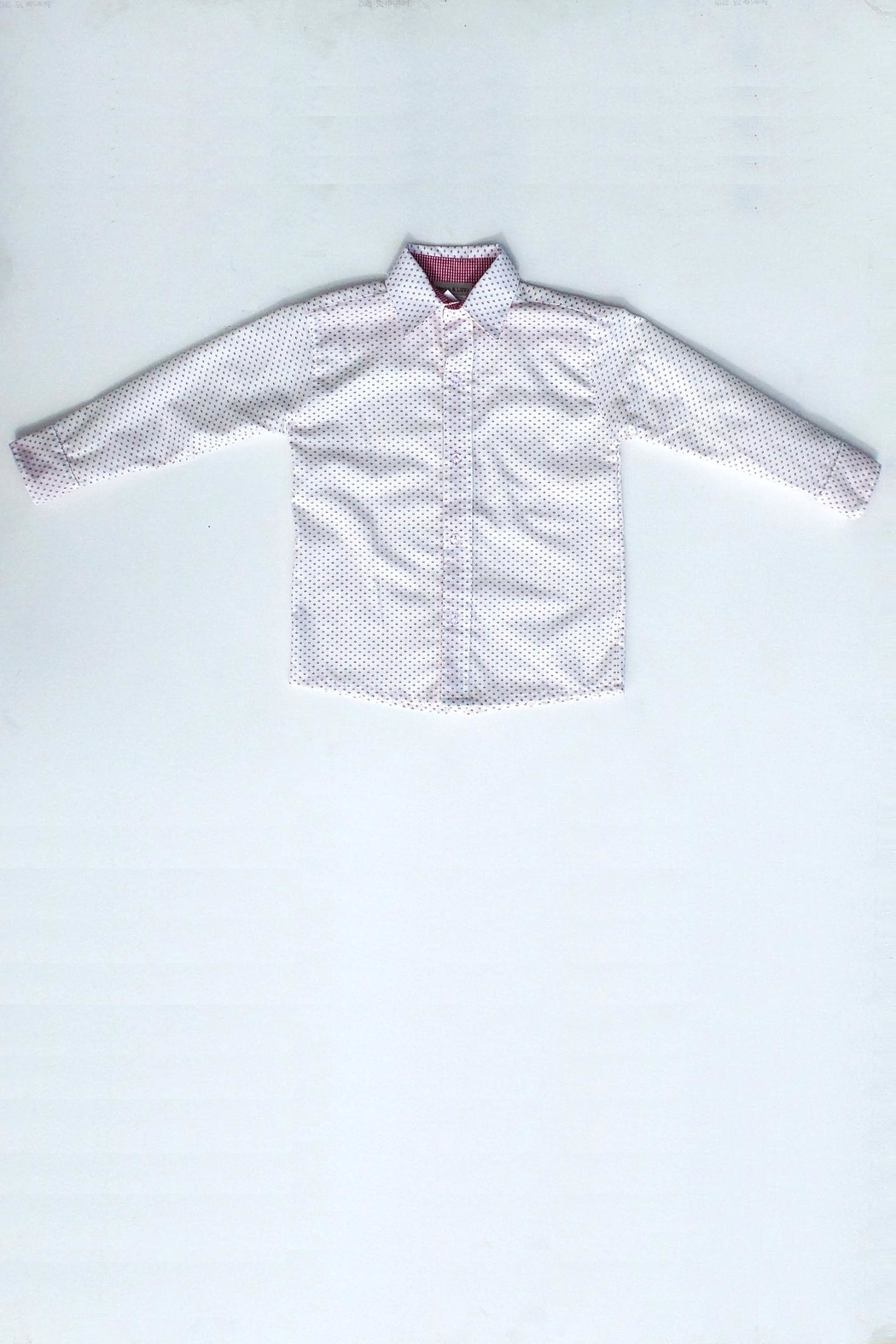 Marco&Lizzy Little Threads Button-Down White Shirt - Main Image