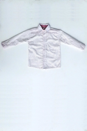 Marco&Lizzy Little Threads Button-Down White Shirt - Front cropped