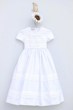 Marco&Lizzy Little Threads Pleated Communion Dress - Product List Image