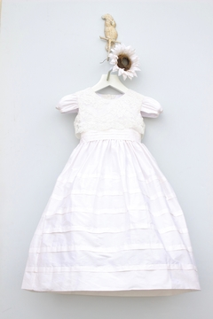 Marco&Lizzy Little Threads Silk Lace Communion Dress - Product List Image
