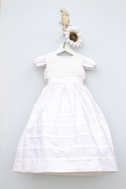 Marco&Lizzy Little Threads Silk Lace Communion Dress - Product Mini Image