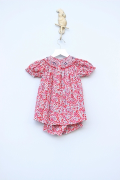 Marco&Lizzy Little Threads Liberty Smocked Bishop Dress - Alternate List Image