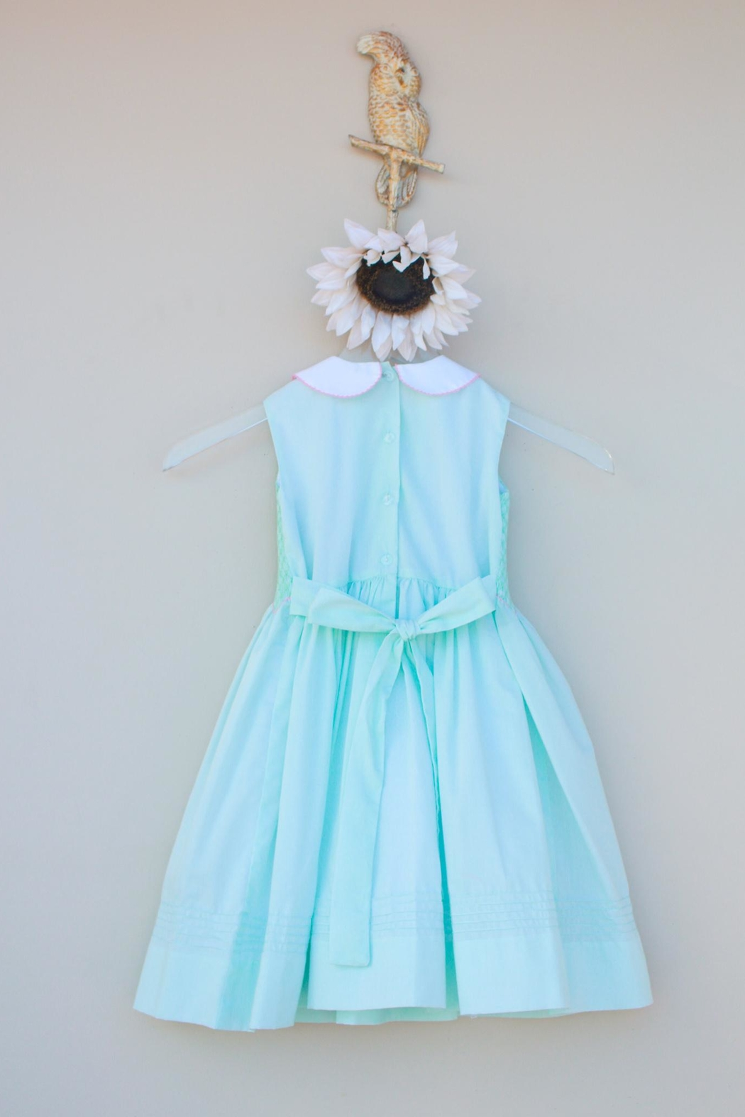 Marco&Lizzy Little Threads Mint Batiste Dress - Side Cropped Image