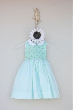 Marco&Lizzy Little Threads Mint Batiste Dress - Product List Image