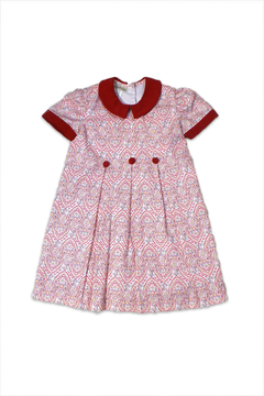 Marco&Lizzy Little Threads Red Paisley Dress - Alternate List Image