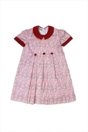 Marco&Lizzy Little Threads Red Paisley Dress - Product Mini Image