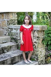 Marco&Lizzy Little Threads Red Ruffle Dress - Front cropped