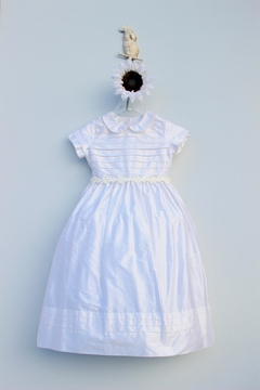 Marco&Lizzy Little Threads Silk Flower Communion Dress - Product List Image