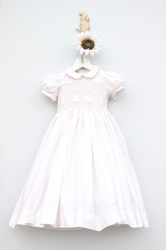 Marco&Lizzy Little Threads Smocked Communion Dress - Product List Image