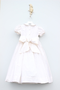 Marco&Lizzy Little Threads Smocked Communion Dress - Alternate List Image