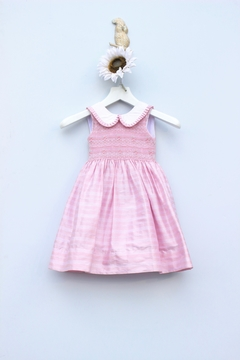 Marco&Lizzy Little Threads Silk V-Back Dress - Product List Image