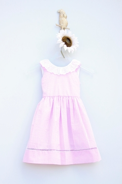 Marco&Lizzy Little Threads Striped Ruffled Dress - Product List Image