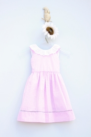 Marco&Lizzy Little Threads Striped Ruffled Dress - Product Mini Image