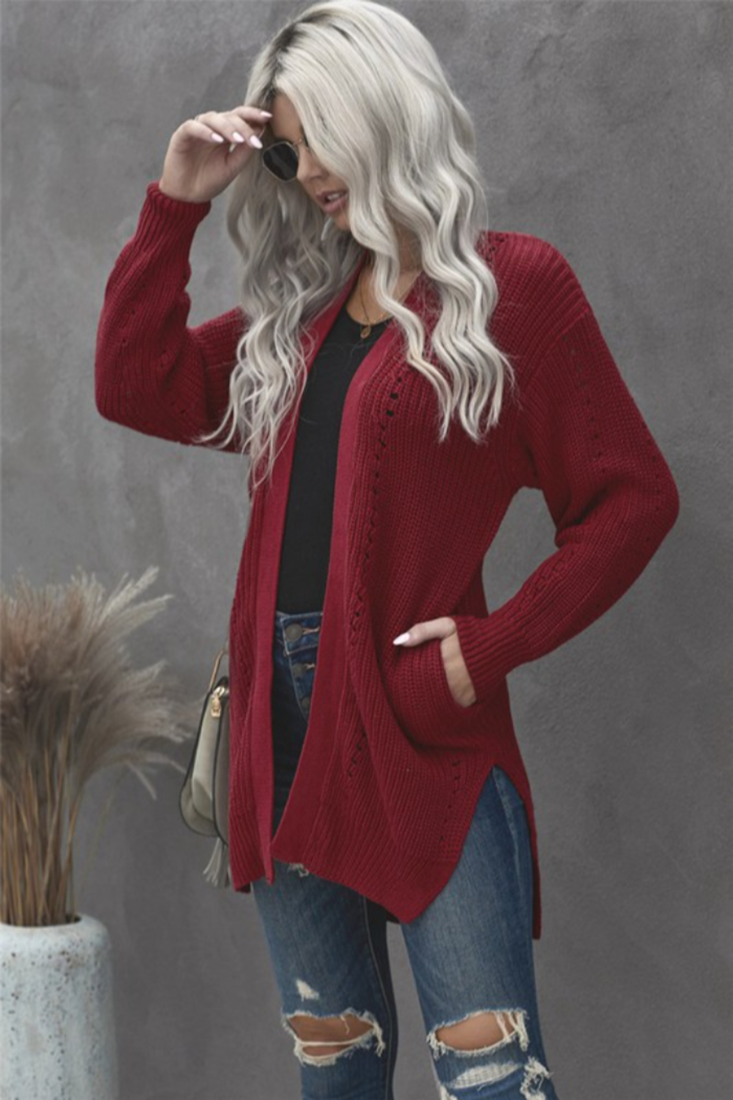 Shewin Marcy Cardigan - Front Full Image