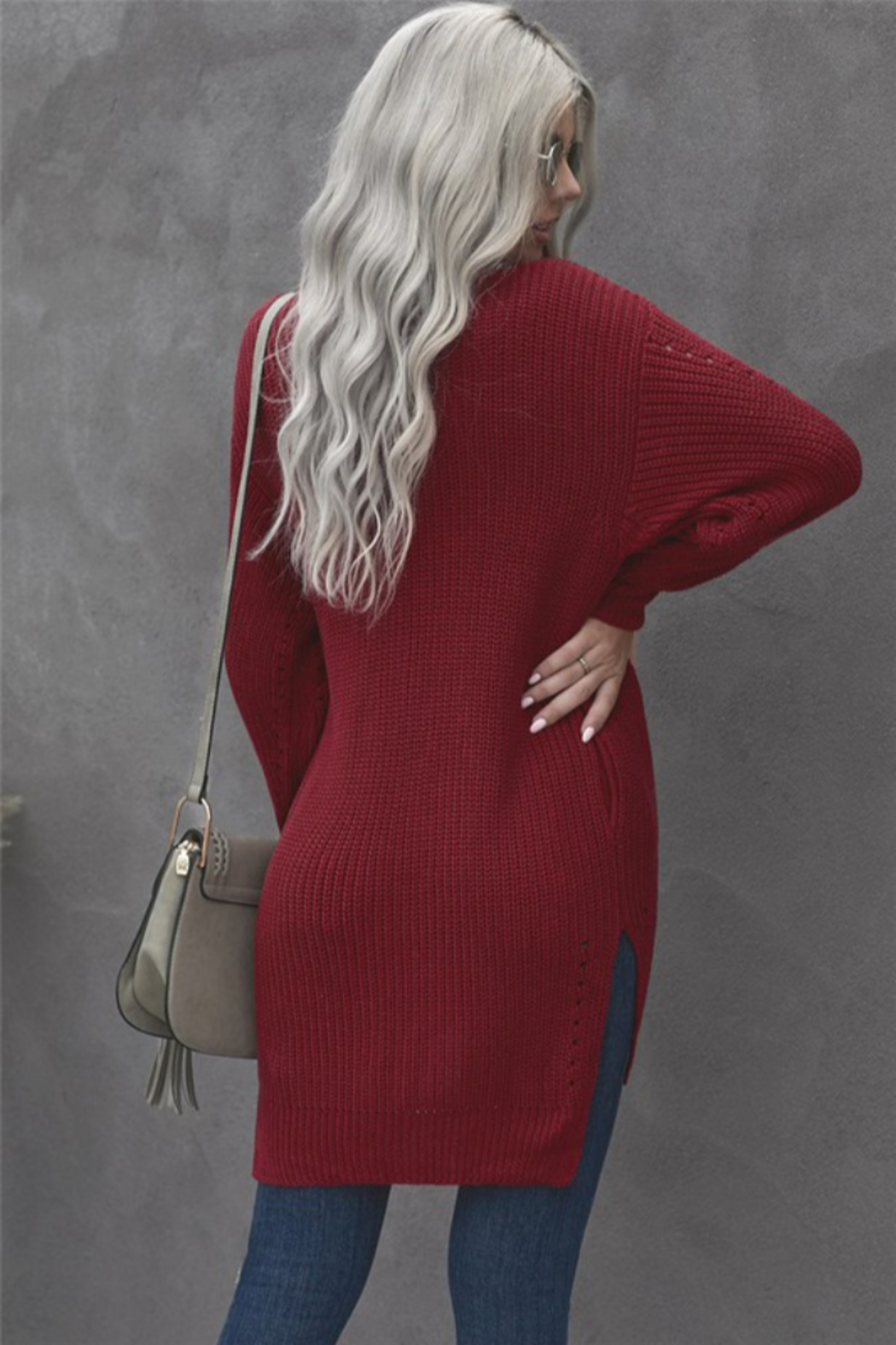 Shewin Marcy Cardigan - Side Cropped Image