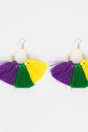 Mardi Gras Collection Mardi Gras Earrings - Product Mini Image