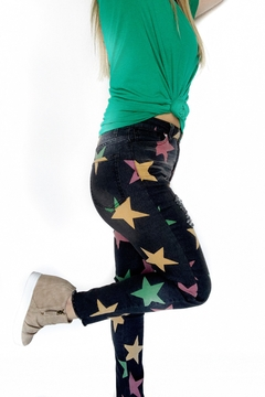 Peach Love California Mardi Gras Jeans - Alternate List Image