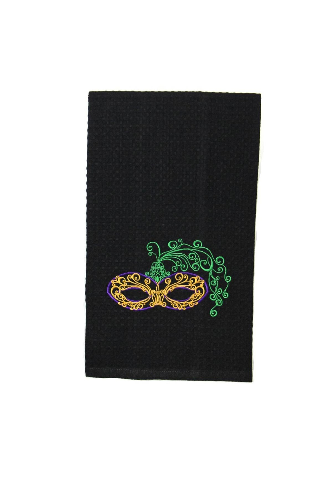 Diane's Accessories Mardi Gras Towel - Front Cropped Image