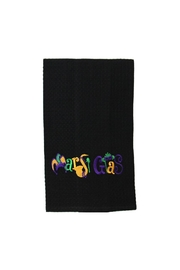 Diane's Accessories Mardi Gras Towel - Front cropped