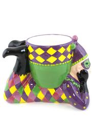 Mardi Gras Collection Jester Dip Bowl - Side cropped