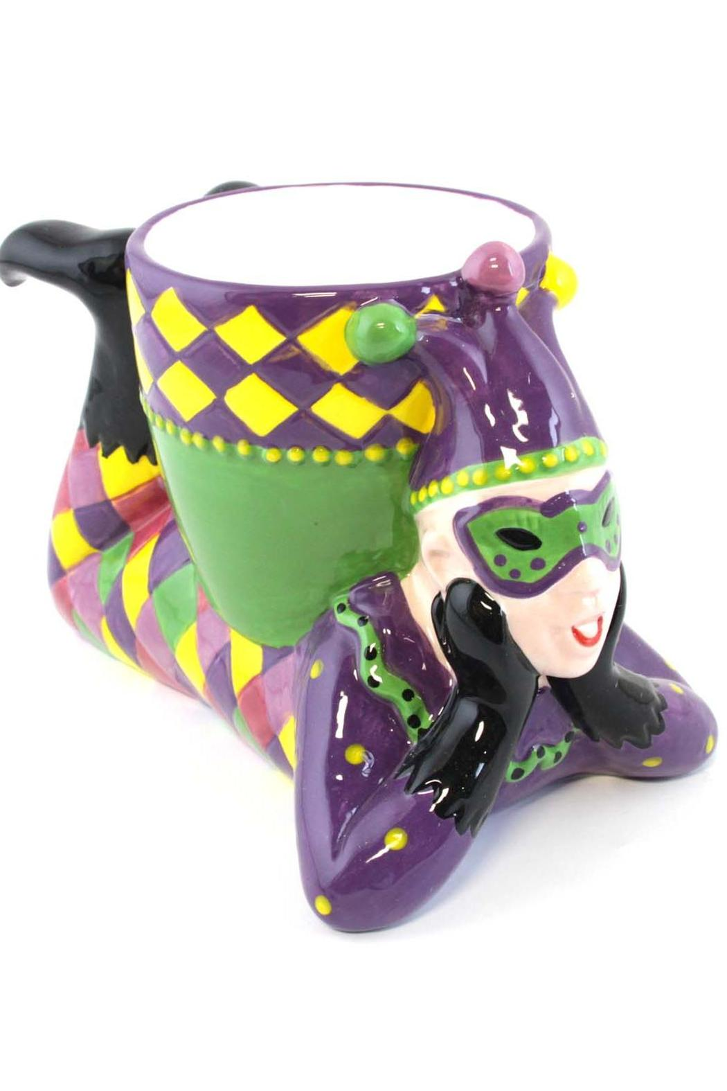 Mardi Gras Collection Jester Dip Bowl - Main Image