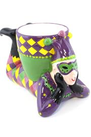 Mardi Gras Collection Jester Dip Bowl - Front cropped