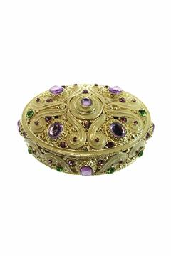 Mardi Gras Collection Jeweled Collectable Box - Alternate List Image