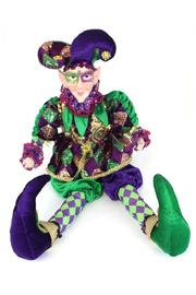 Mardi Gras Collection Mardi-Gras Jester Doll - Product Mini Image